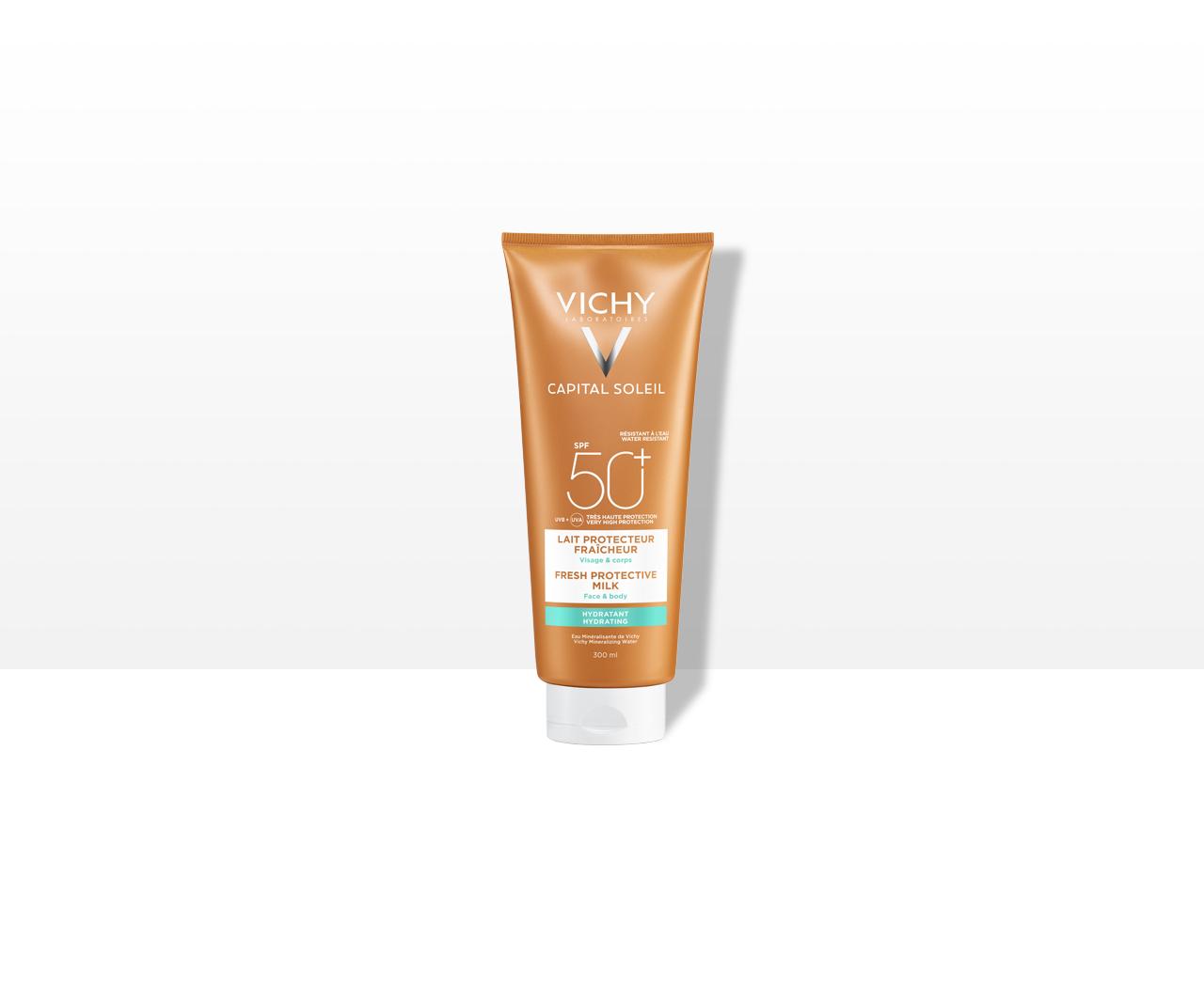 Hydratačné ochranné mlieko na tvár a telo SPF 50+ Veľmi vysoká ochrana