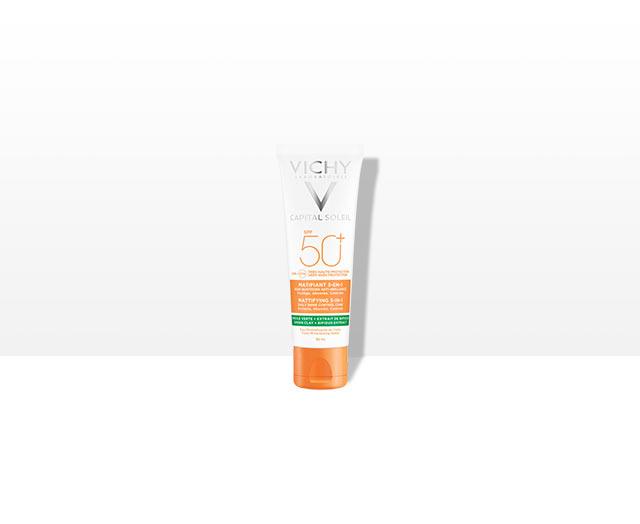 Zmatňujúci ochranný krém 3v1 SPF 50+ - obrázok výrobku