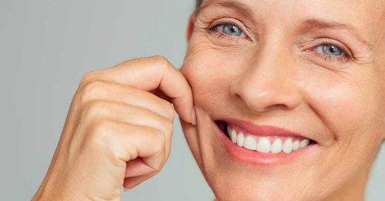 Svrbiaca, suchá pleť... Ako sa moja pleť počas menopauzy mení?